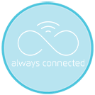 Always connected icon - Maytronics